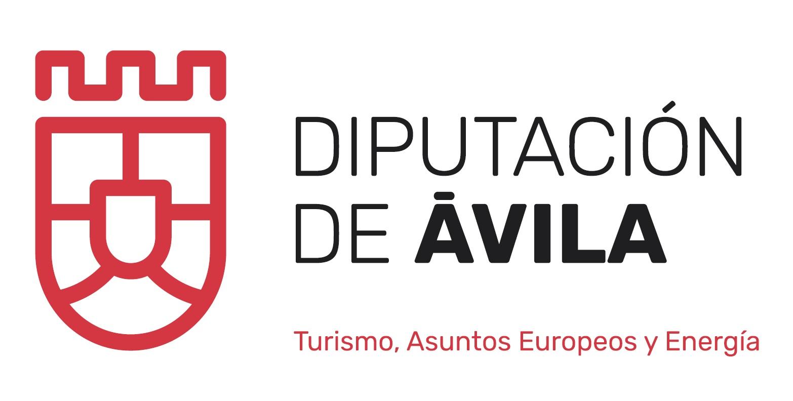 Logotipo de la Diputación de Ávila. Turismo, Asuntos Europeos y Energía