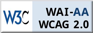 Icono de certificación de Accesibilidad WCAG 2.0 AA