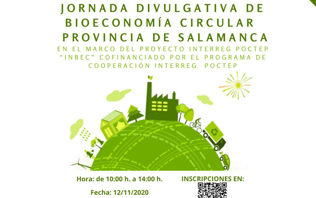 Jornada Bioeconomía dirigida a las empresas de la provincia de Salamanca