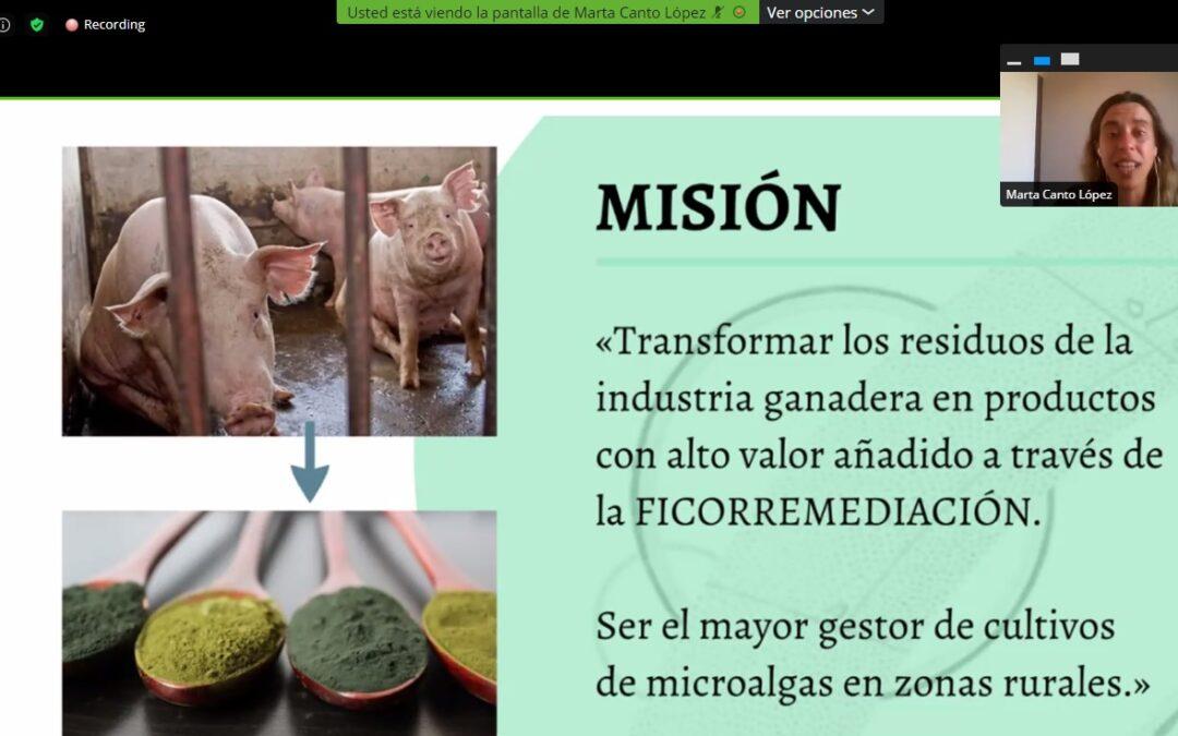 El uso de las microalgas para dar una segunda oportunidad a los residuos