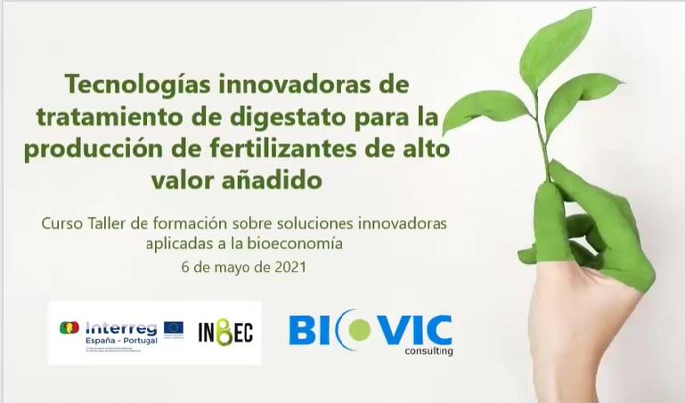 Disponible en diferido el cuarto taller INBEC sobre soluciones innovadoras en bioeconomía